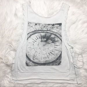 Free People Compass Graphic Tank